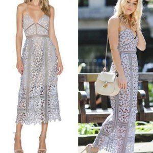 Anthropologie Elliatt Tingle Floral Lace Dress S